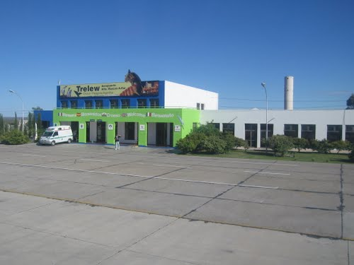 REL - Trelew - airside - Welcome to Aeropuerto Alte Marcos A. Zar