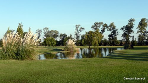 Cancha de Golf Club Central Argentino