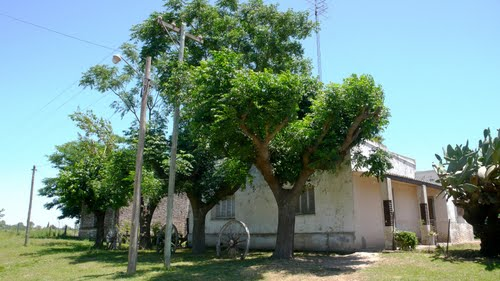 Old country house just outside Ramallo